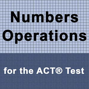Numbers Operation for ACT ® operation