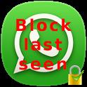 WhatsApp Last Seen and Lock