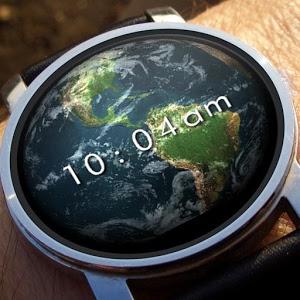 Earth 3D Watch Face