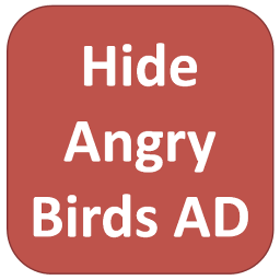 Hide Angry Birds AD