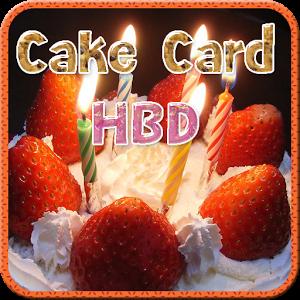 Cake Card HBD