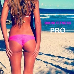 Bikini Fitness Pro string bikini contest
