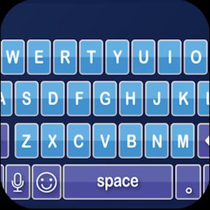 Emoji Keyboard - Blue