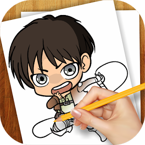 Learn to Draw Attack On Titan