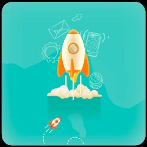 Rocket App emoji phone rocket