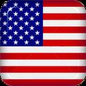 USA Flag 3D flag