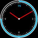 Circle Battery Clock