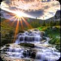 3D Waterfalls Live HD wallpape