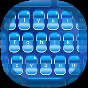 Blue Keypad for Android numeric keypad