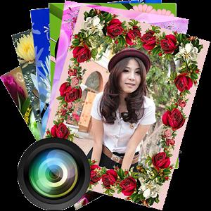 Flowers Photo Frames Camera