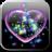 Heart theme of Tap Tap Bubbles