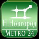 N.Novgorod (map for Subway 24)
