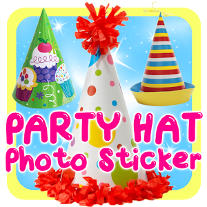 Party Hat Photo Sticker