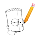 How to Draw Bart Simpson bart simpson doing lisa