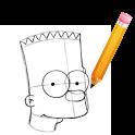 How to Draw Bart Simpson bart simpson doing lisa