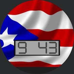 PuertoRico Flag for WatchMaker