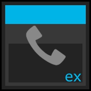 ExDialer theme Dark 5.0