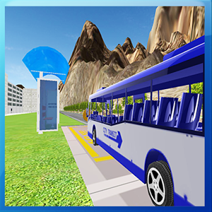 Bus Driving 3D Simulator-City