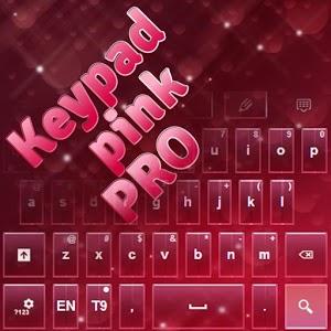 Keypad Pink Pro keypad