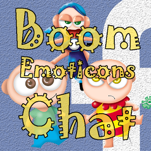 Boom Emoticons Chat-Facebook