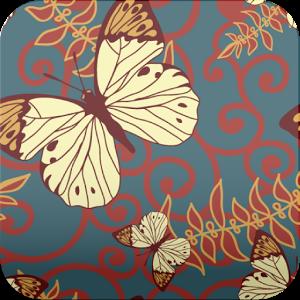 butterfly pattern wallpaper229