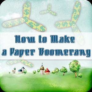 Paper Boomerang