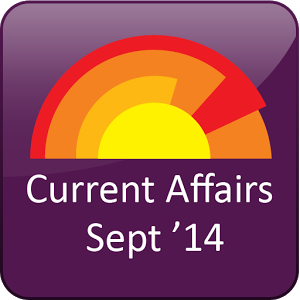 Current Affairs September 2014