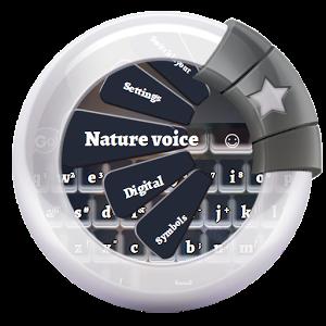 Nature voice GO Keyboard keyboard screenlock voice