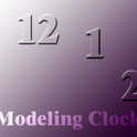 Modeling Clock russian child top modeling