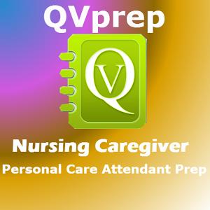 QVPrep Nursing Caregiver PCA
