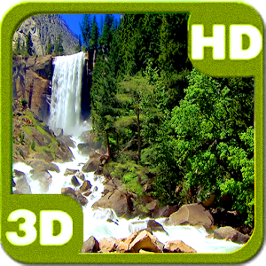 Nice Tall Waterfall HD