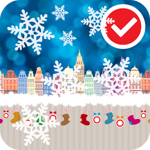 Snow in Town Live Wallpaper