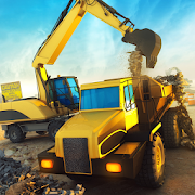 Construction Bulldozer Transport Simulator