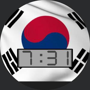 Korea Flag for WatchMaker
