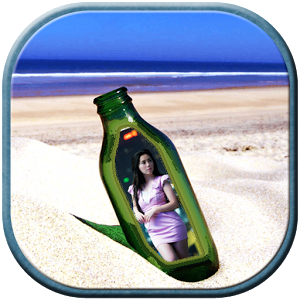 Photo in Bottle Photo Frame