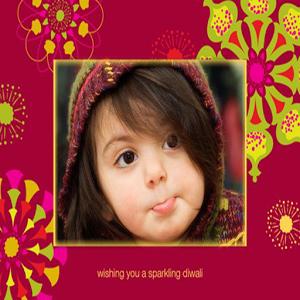 Diwali Card Frames
