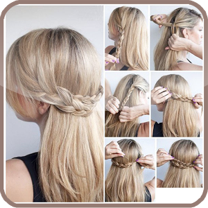 Hairstyle step