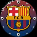 FC Barcelona Clock Widget