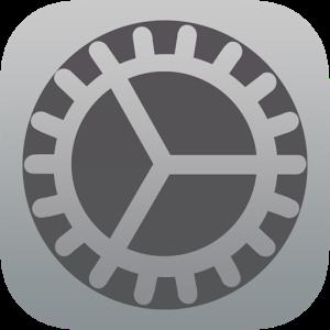 iOS 8 Settings appearance press settings