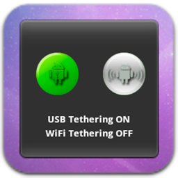 One Click USB WiFi Tether