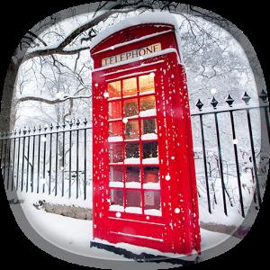 Snow In London Live Wallpaper