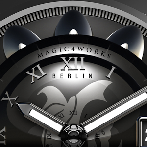 Black Crown Watch Face