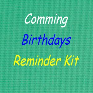 Birthdays Reminder