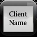 Client Name Holder
