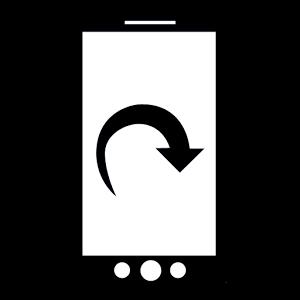 screen rotation lock control lock rotation