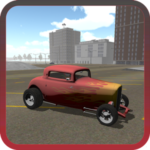 Fire Hot Rod Racer