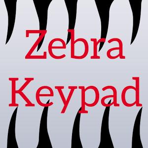 Zebra Keypad keypad