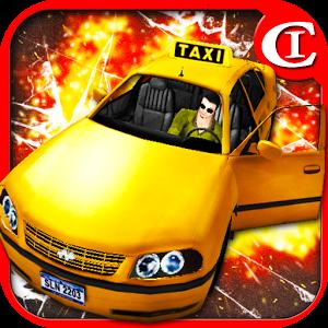 Crazy Crash Taxi King 3D