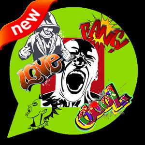 HIP-HOP Emoticons & Sticker