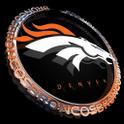 Denver Broncos Alarm Clock